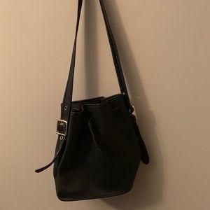 Black Coach Bucket Bag
